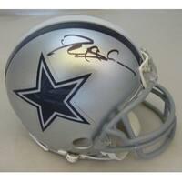 Deion Sanders Autographed Dallas Cowboys mini helmet JSA