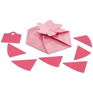 Spellbinders Grand Calibur Shapeabilities Dies-Hexagon Pinwheel Top Box, 8/Pkg