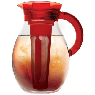 Primula Iced Tea Brewer - Spacious And Innovative Infusion Chamber - 100% Bpa, Pvc, Phthalate, And Lead Free - For Hot O