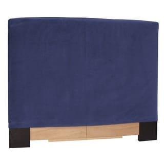 Howard Elliott Bella Royal Slipcovered Headboard Royal 100% Polyester Upholstery Headboard
