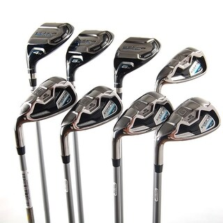 New Cobra Baffler XL Combo Iron Set 4h 5h 6h 7-PW,GW Stiff LEFT HANDED