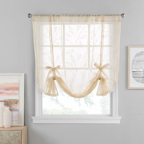 Vue Window Solutions Prairie Tie Up Shade
