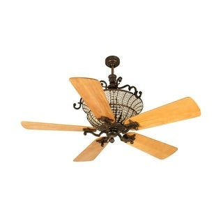 """Craftmade K10879 Cortana 54"""" 5 Blade DC Indoor Ceiling Fan - Blades and Remote Included"""