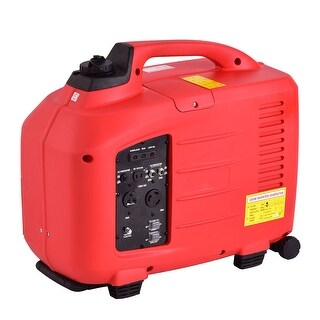 Costway Portable 3500W Digital Inverter Generator 4 Stroke 149cc Single Cylinder Red