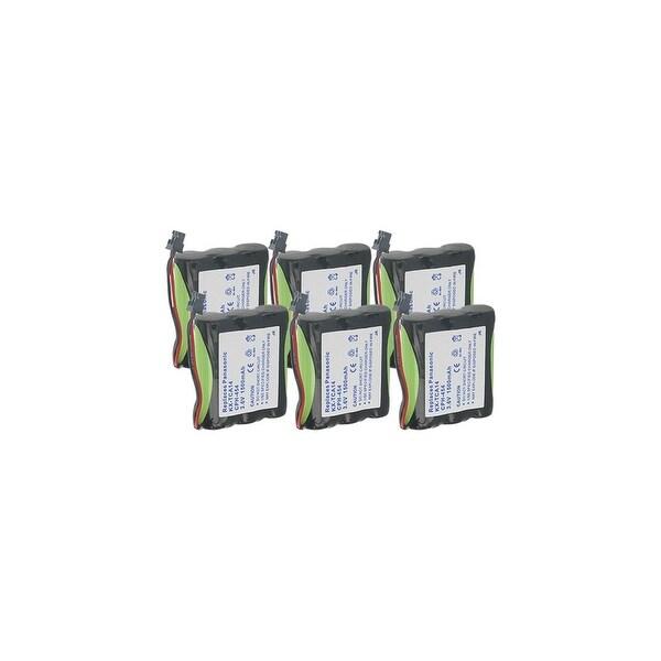 Replacement Panasonic P-P510 NiMH Cordless Phone Battery - 1500mAh / 3.6v (6 Pack)