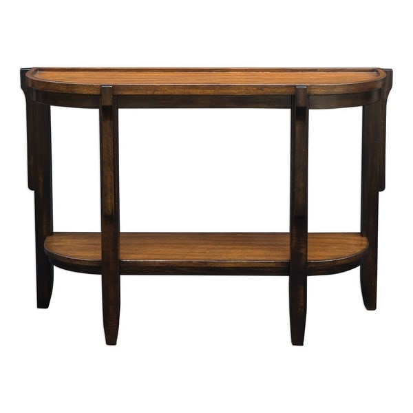 Uttermost 25820 Sigmon 46 1 2 Inch Wide Mango Wood Console Table With Gallery Sh
