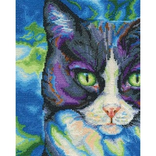 """Snowshoe Counted Cross Stitch Kit-8""""X10"""" 14 Count"""
