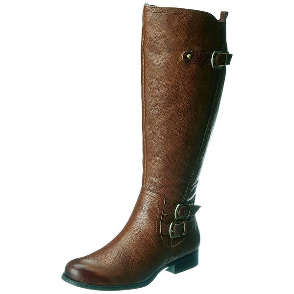 Naturalizer NEW Brown Shoes Size 4W Knee-High Leather Boots
