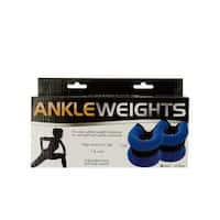 Kole Imports OS939-4 10 lbs, 1 Pound Adjustable Ankle Weights