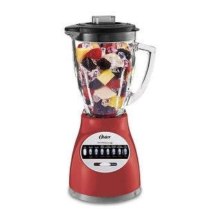 Oster 006694-R00-R01 14 Speed Culinary Blender, Red - N/A