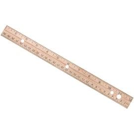 "Westcott 12"" Wood Ruler"