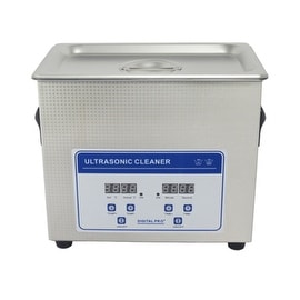 3.2L Professional Digital Ultrasonic Cleaner Machine with Timer Heated Stainless steel Cleaning tank 110V/220V
