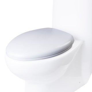 Eago R-309SEAT Replacement Elongated Toilet Seat for TB309 - White - N/A
