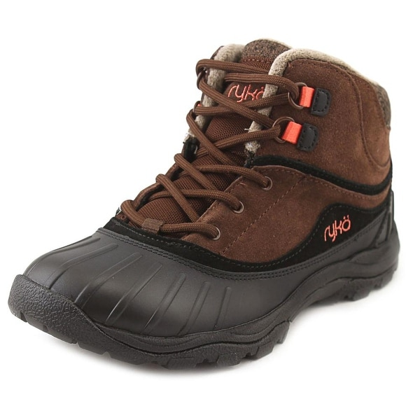 Ryka Mallory Women W Round Toe Synthetic Brown Rain Boot
