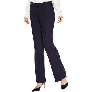 Anne Klein Womens Dress Pants Wool Bootcut