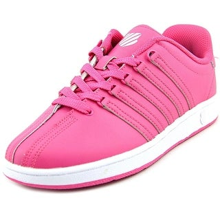K-Swiss Classic VN Round Toe Leather Sneakers