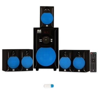 Blue Octave B51 Home Theater Powered 5.1 Speaker System and USB Bluetooth