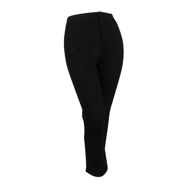 a4a3a64f95bd4 Shop Charter Club Women s Plus Cambridge Tummy-Control Ponte Pants - Deep  Black - On Sale - Free Shipping On Orders Over  45 - Overstock - 20461365