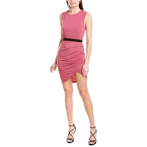 Bcbgmaxazria Asymmetric Sheath Dress