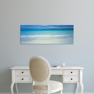 Easy Art Prints Panoramic Images's 'Clouds over an ocean, Great Barrier Reef, Queensland, Australia' Canvas Art