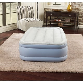 Link to Simmons Beautyrest Twin Hi Loft Inflatable Air Mattress Similar Items in Bedroom Furniture