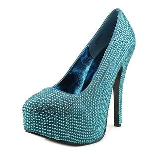 Bordello Teeze-06R Women Round Toe Canvas Heels