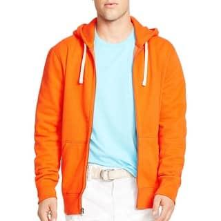 Polo Ralph Lauren Hooded Full Zip Fleece Sweatshirt Bright Orange Small S|https://ak1.ostkcdn.com/images/products/is/images/direct/39100866f4225c2fe6c15e7ff79cdacbcc426de5/Polo-Ralph-Lauren-Hooded-Full-Zip-Fleece-Sweatshirt-Bright-Orange-Small-S.jpg?impolicy=medium