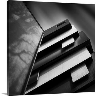 """""""Black And White"""" Canvas Wall Art"""