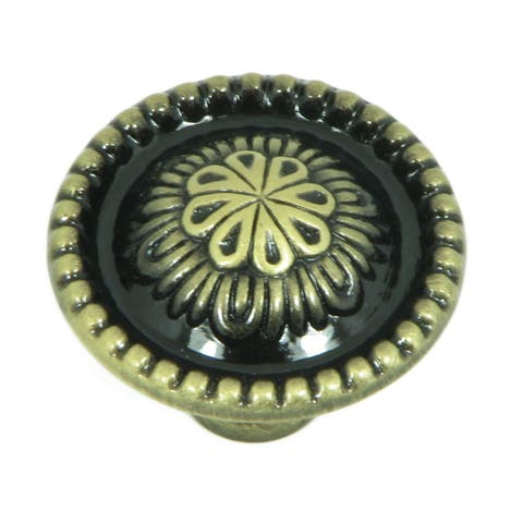 Stone Mill Hardware - Antique Brass Alcapulco Cabinet Knobs (Pack of 25)