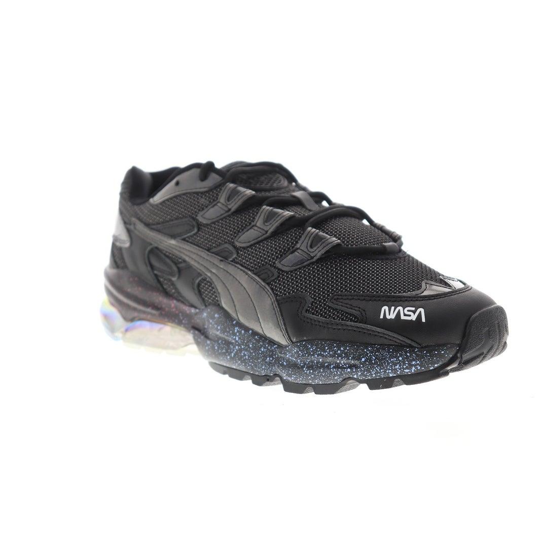 Puma X NASA Cell Alien X Space Agency Black Black Mens Low Top Sneakers