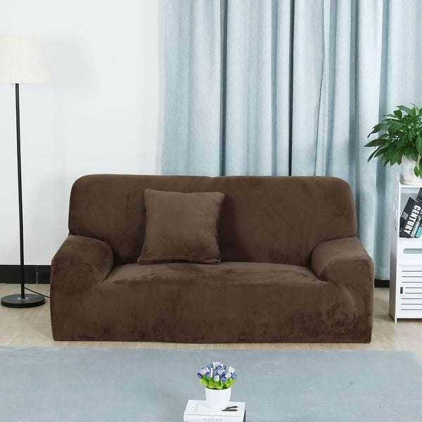 Shop Home 1 2 3 4 Seats Stretch Flannel Sofa Cover