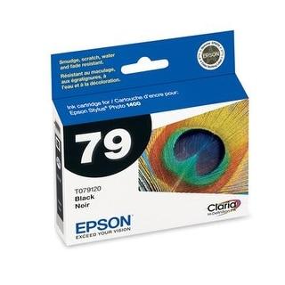 2pack Epson T079120 Claria Hi-Definition Black High Capacity Cartridge Ink