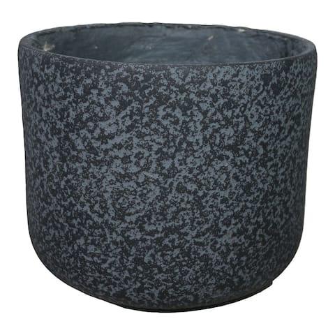 Aurelle Home Rustic Tactile Surface Cement Planter