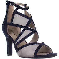 Rialto Ria Strappy Dress Heel Sandals, Midnight