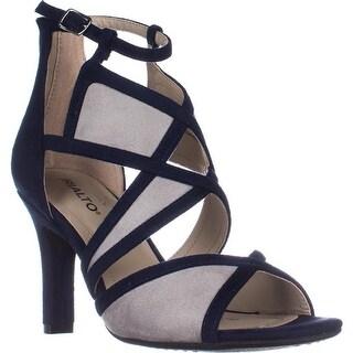 Rialto Ria Strappy Dress Heel Sandals, Midnight