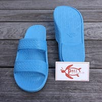 Pali Hawaii Jandals SKY BLUE with Certificate of Authenticity