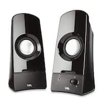 Cyber Acoustics Curve Sonic 2.0 Speaker System - 3 W RMS - black - 6.7 x 3.1 x 5.9