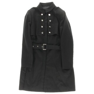 City Chic Womens Plus Trench Coat Single Vent Long Sleeves - 14