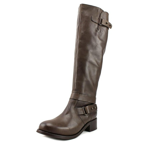 Hardy Leyton 2 Women Round Toe Leather Brown Knee High Boot