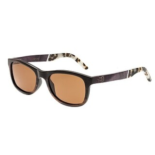 Earth Wood El Nido Unisex Wood Sunglasses - 100% UVA/UVB Prorection - Polarized Lens - Multi