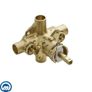 """Moen 2570  1/2"""" Sweat (Copper-to-Copper) Posi-Temp Pressure Balancing Rough-In Valve (With Stops)"""