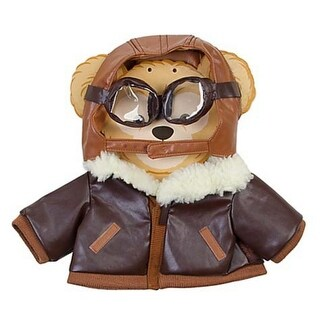 Authentic Disney Parks Original Duffy the Disney Bear Outfit - Aviator Costume