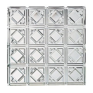 Ceiling Tiles Tin Plated Steel Diamond 2' x 2'