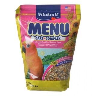 Vitakraft Menu Care Complex Conure Food 3 lbs