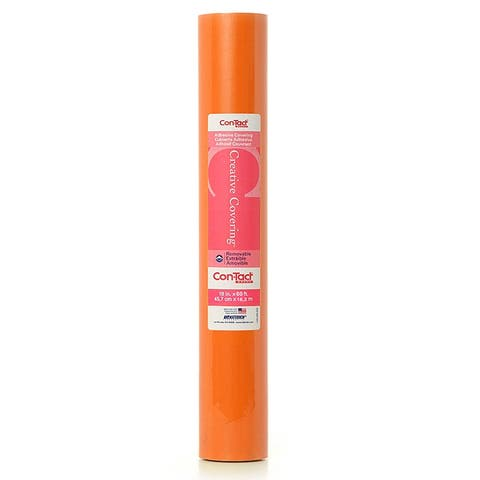 Con-tact adhesive roll orange 18 x 60 ft 60fc9a1k601
