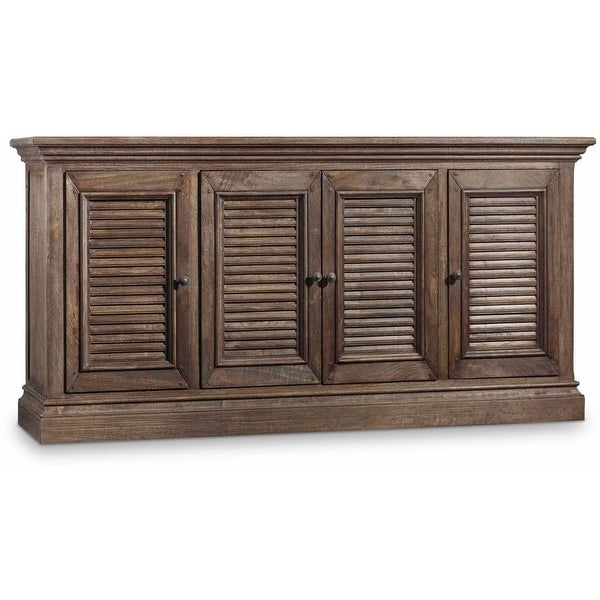 Hooker Furniture 5484 55472 DKW 72 Inch Wide Hardwood Media Cabinet From  The Reg
