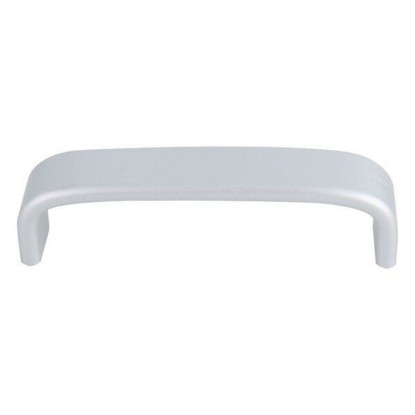 """Cabinet Handle Pull Space Aluminum 3.8"""" Hole Center for Furniture Cabinets Cupboard Wardrobe Silver Tone"""