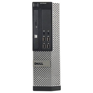 Dell Optiplex 7010 Desktop Computer USFF Intel Core I3 3220 3.3G 8GB DDR3 320G Windows 10 Pro 1 Year Warranty (Refurbished)