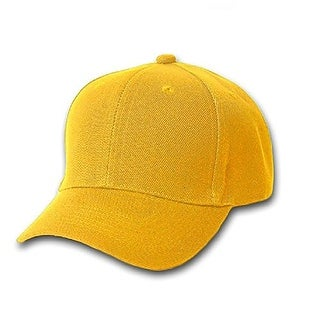 Set of 3 Plain Unisex Baseball Cap - Blank Hat with Solid Color for Men & Women - Adjustable & Unstructured For Max Comfort