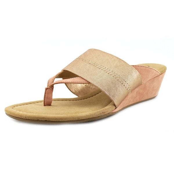 Alfani viiva Women Rose Gold Sandals
